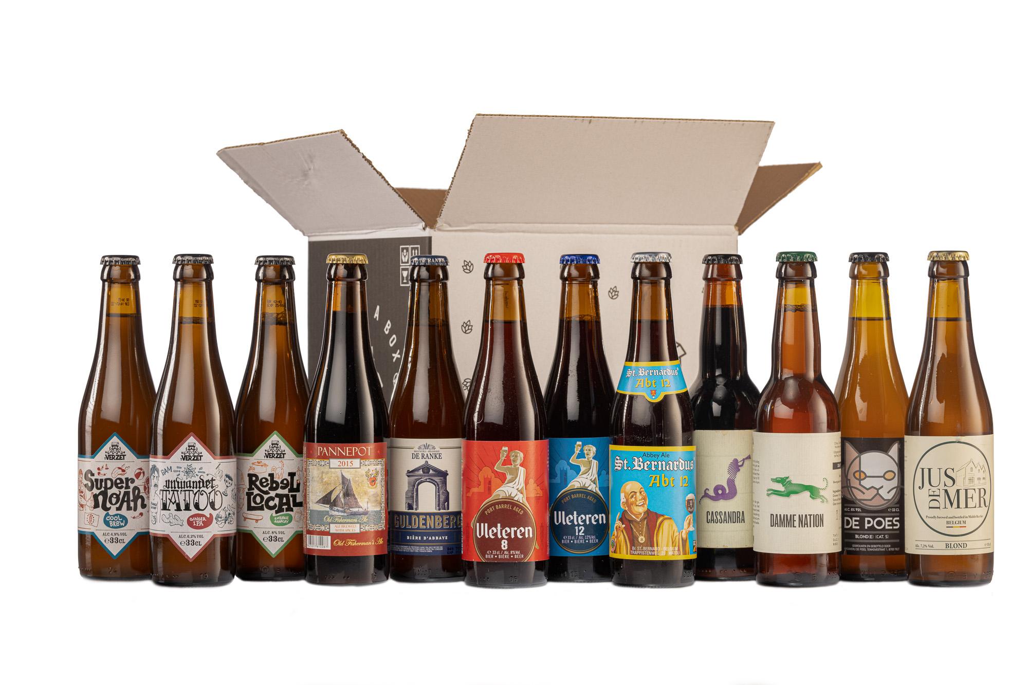 Bierpakket West-Vlaamse toppers